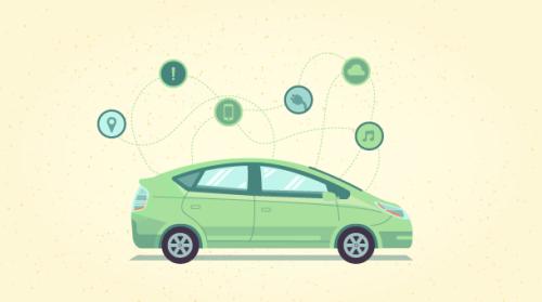 움직이는 IoT, 스마트카 주도권 다툼 - 삽입된 이미지