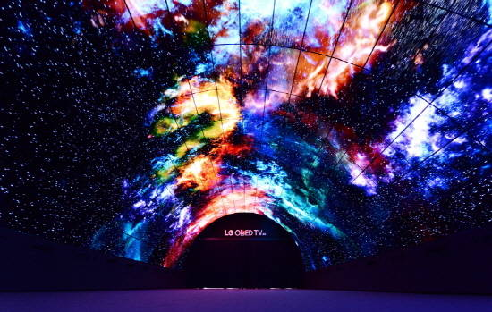 World's Largest OLED Tunnel…