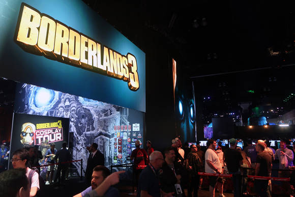 [E3 2019] 행사장 들어서자마자 이 게임…2K '보더랜드3' 떴다