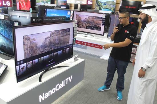 LG전자, 아랍어 인식 AI TV 중동 출시