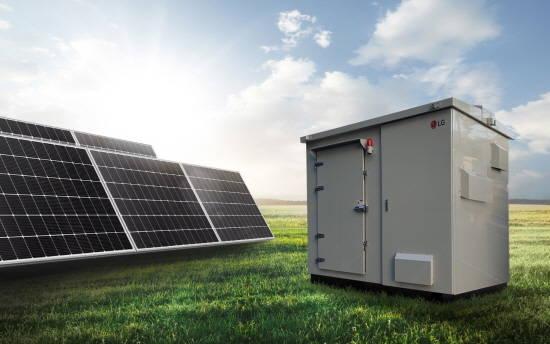 LG전자, 태양광 발전용 ESS 신제품 선봬