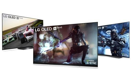 LG OLED TVs to Receive NVIDIA G-SYNC Upgade Starting This Week