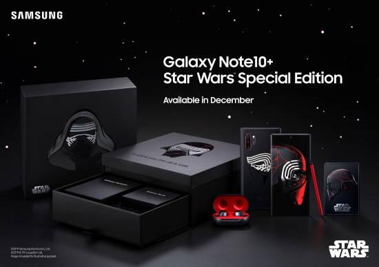 삼성전자, '갤럭시노트10+ 스타워즈 에디션…