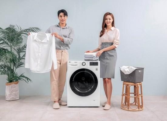 LG전자, 12kg 트롬 세탁기 씽큐 신제품 선봬