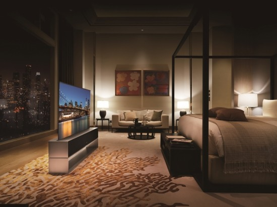 TV가 1억원…LG전자 롤러블TV 'LG시그…