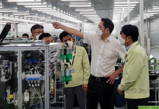 """이재용 삼성전자 부회장, """"어떤 변화도 대응할…"""