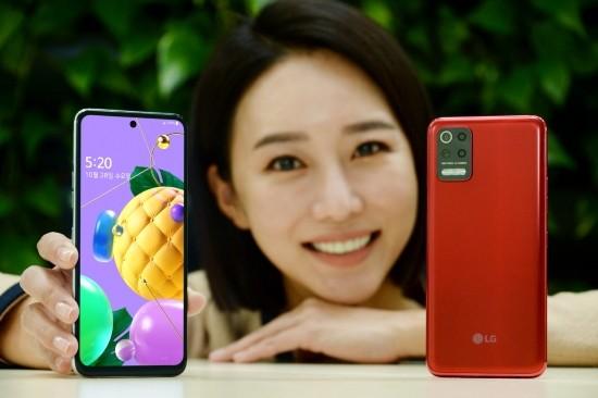 LG전자, 30만원대 후면 4개 카메라폰 'Q52…