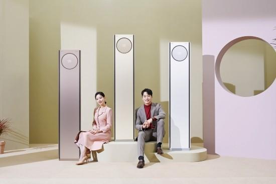2021년 에어컨 경쟁 시동…LG전자, '휘센 타…