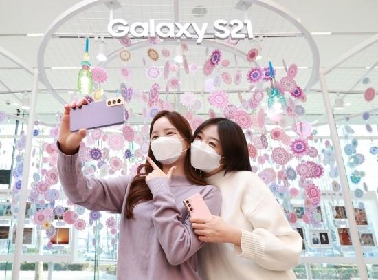 예측실패? 인기폭발?…삼성, 갤S21 예약구매…