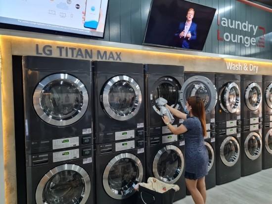 LG전자, 상업용 세탁기 공략 '잰걸음'