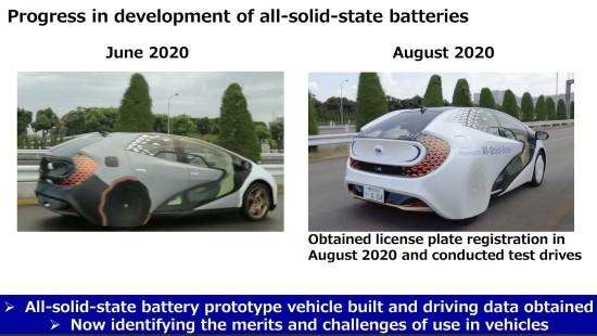도요타, 세계 최초 전고체전지EV 개발…2020…