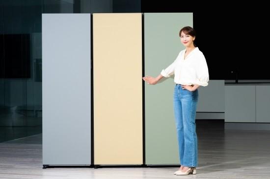 삼성전자, '비스포크 냉장고' 선택 폭 확대……